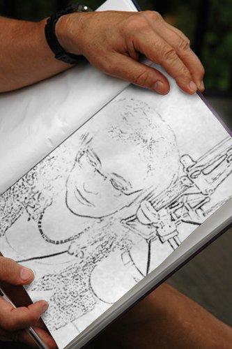 Efectos de fotos. Sketch